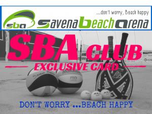 SBA CLUB FRONTE