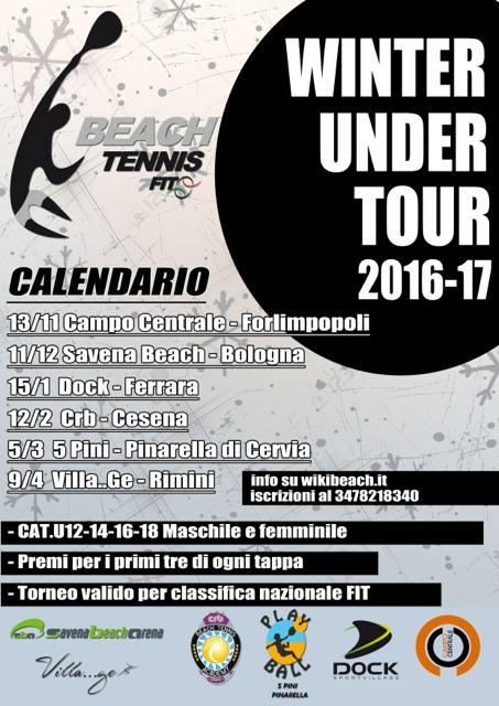 Fit Calendario Tornei.Seconda Tappa Del Winter Tour Under Fit Beach Tennis